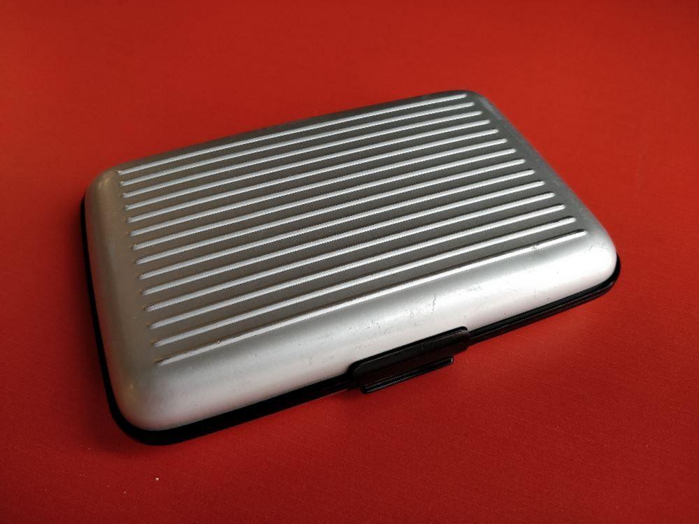 Ogon, cutie aluminiu, protectie RFID