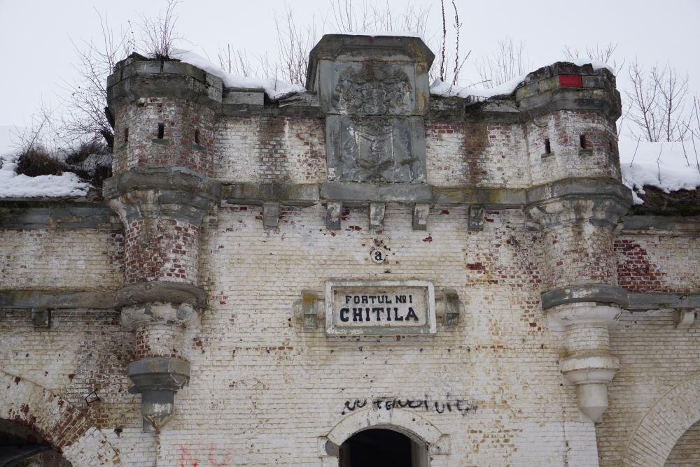 Fortul I Chitila, Fortul 1 Chitila, Fortul Chitila
