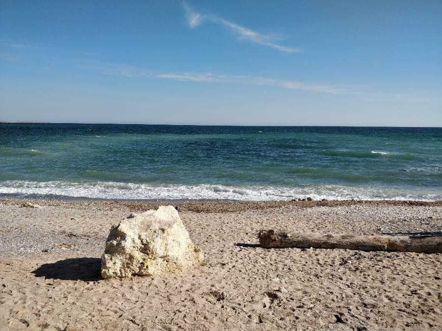 Pescaria lui Matei, Agigea, plaja