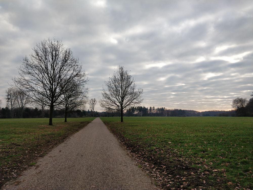 Merheimer Park, Koln, Germania, fotografie cu smartphone