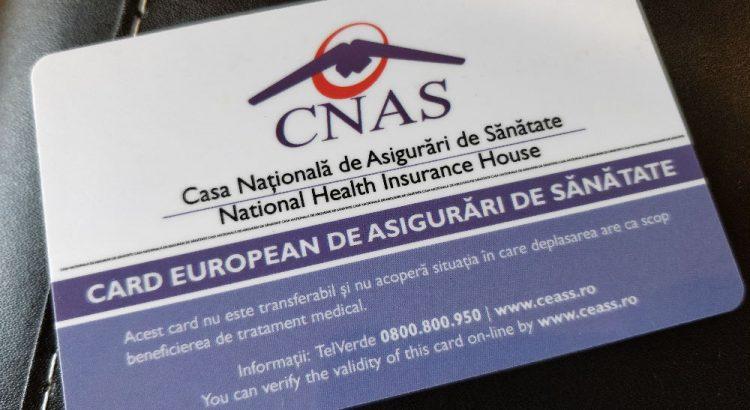 Card european de asigurat