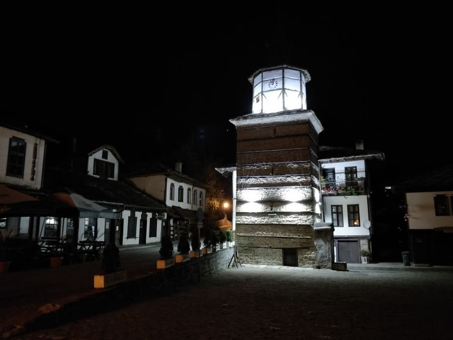 Turnul cu ceas, Tryavna