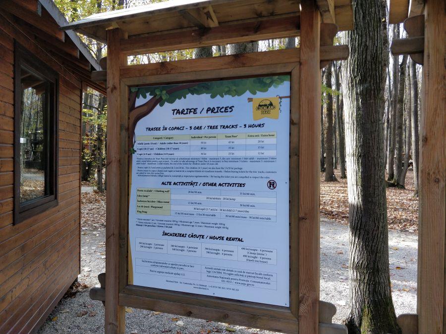 Edenland Park, Balotesti, Adventure Park, Parc de Aventura