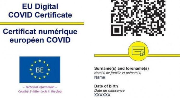 Certificat digital UE de vaccinare